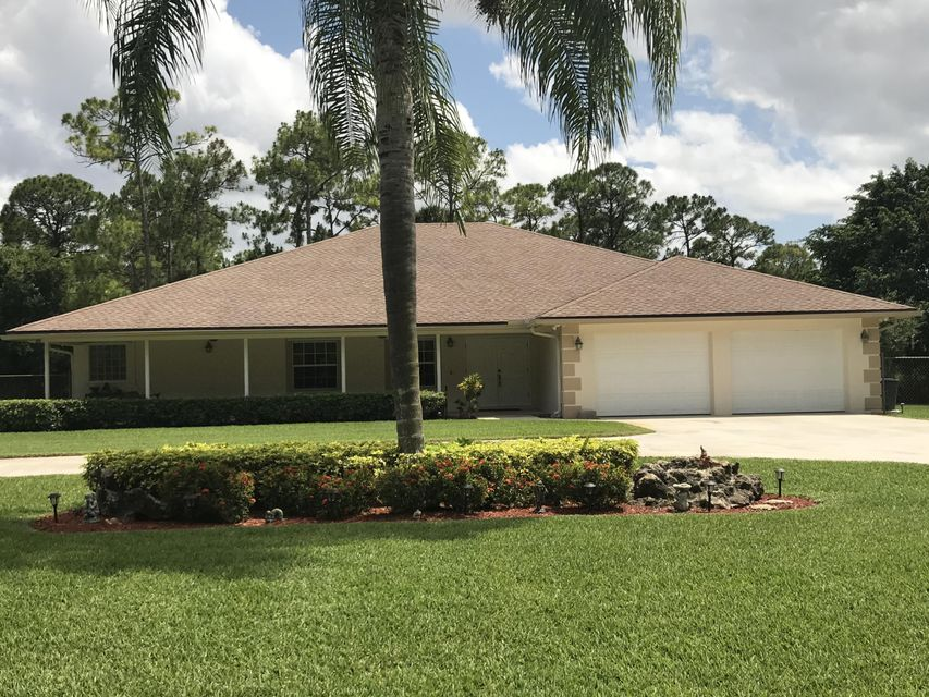 Single Family Home for Sale at 14410 71st Place N Loxahatchee, Florida 33470 United States