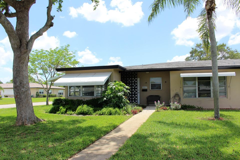 Villa for Sale at 1047 Circle Terrace E 1047 Circle Terrace E Delray Beach, Florida 33445 United States