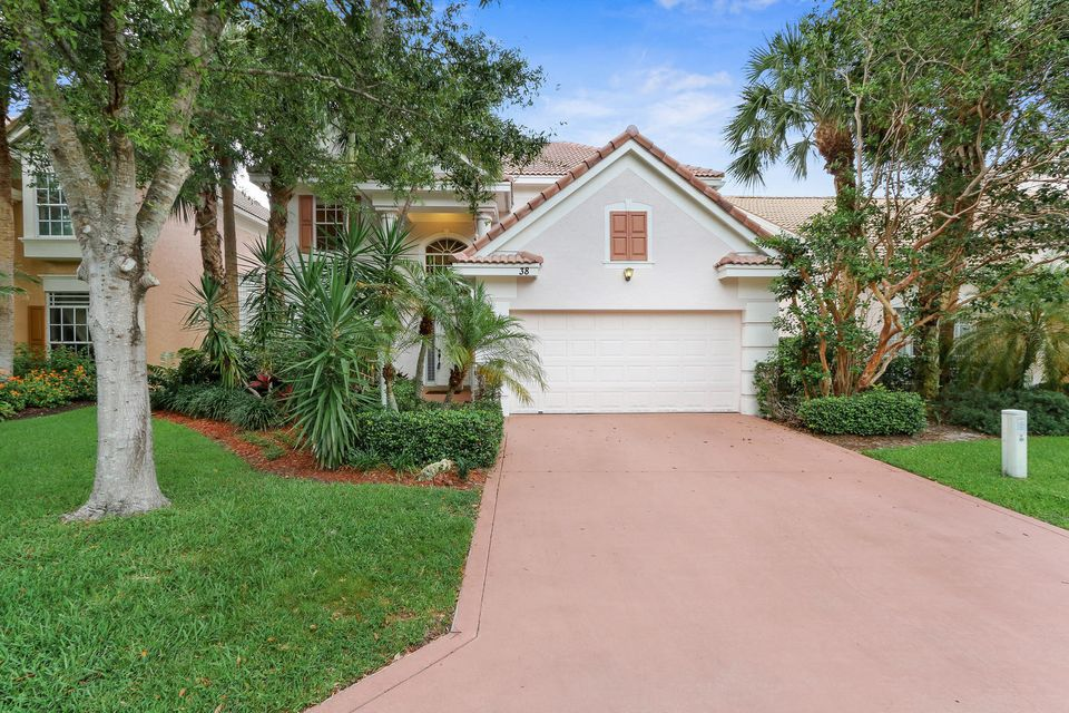 Single Family Home for Sale at 38 Princewood Lane Palm Beach Gardens, Florida 33410 United States