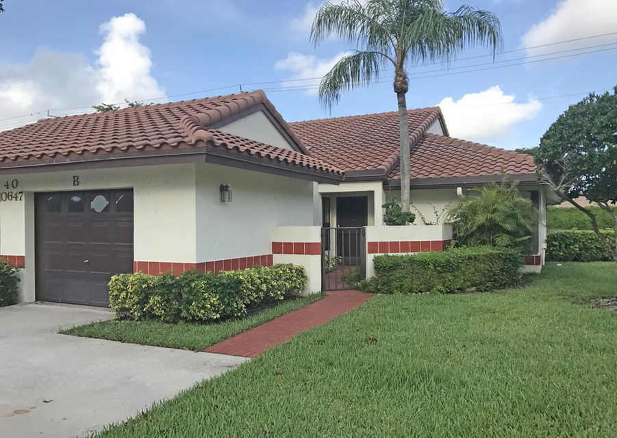 10647 Palm Leaf Drive B, Boynton Beach, FL 33437