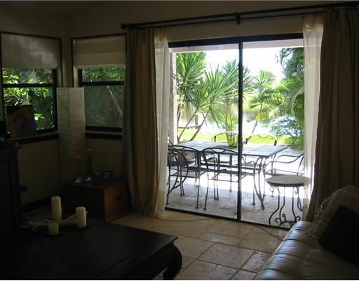 View of Patio from Living Room