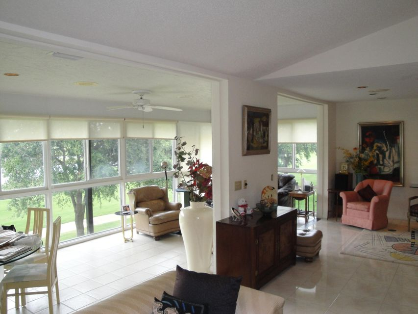 Glass Enclosed Florida Room