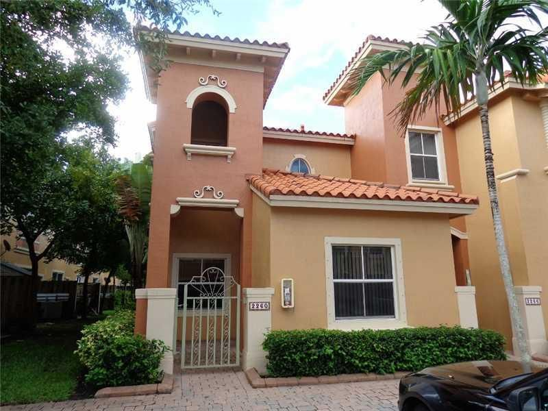 تاون هاوس للـ Rent في 2260 Clipper Place Dania Beach, Florida 33004 United States