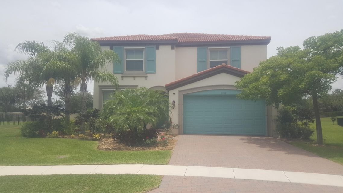 Single Family Home for Sale at 2201 Arterra Court 2201 Arterra Court Royal Palm Beach, Florida 33411 United States