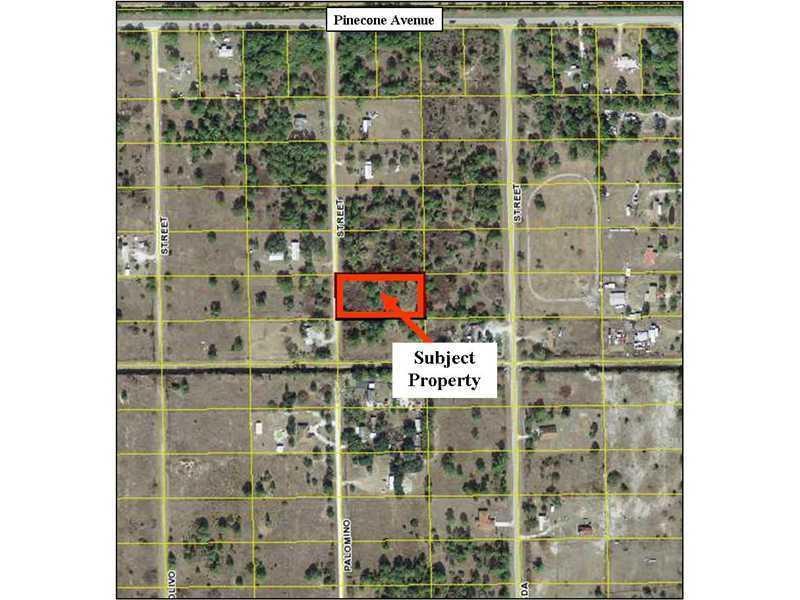 Terrain pour l Vente à 825 N Palomino Street Clewiston, Florida 33440 États-Unis