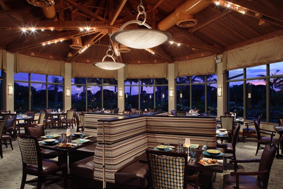Restaurant Banquette View