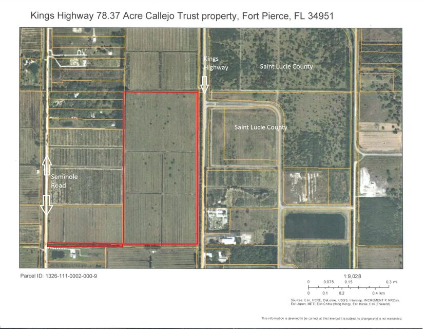 Additional photo for property listing at Tbd N Kings Hwy Highway Tbd N Kings Hwy Highway Fort Pierce, Florida 34951 Vereinigte Staaten