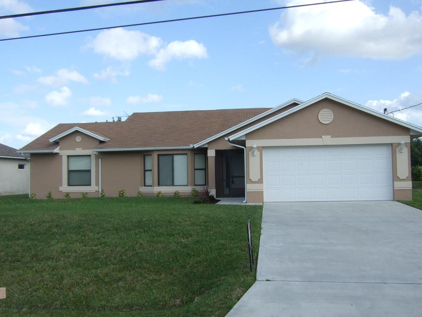 Single Family Home for Sale at 6711 NW Dorothy Street Port St. Lucie, Florida 34983 United States