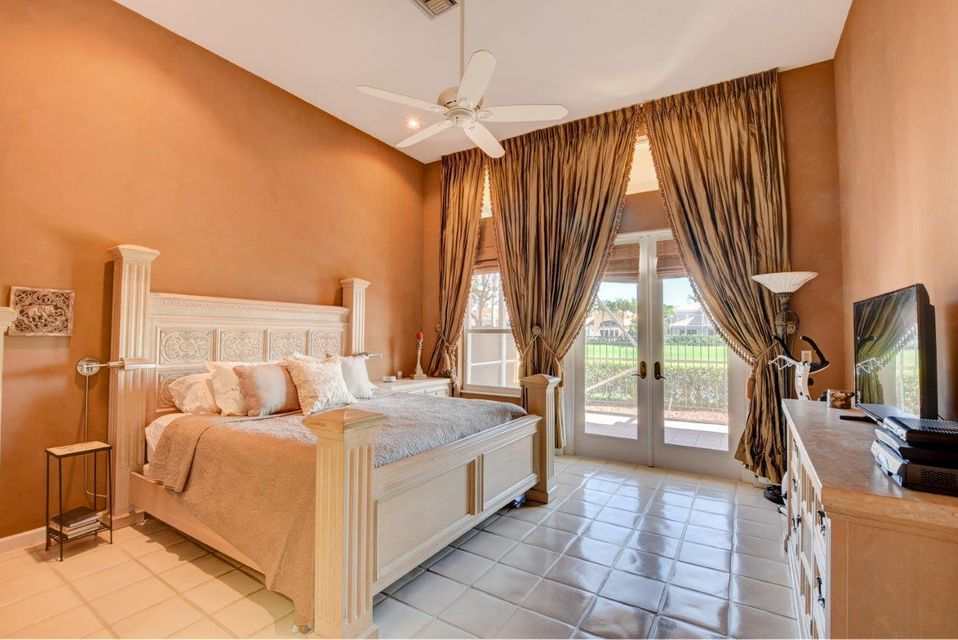 Professionally Decorated Master Bedroom