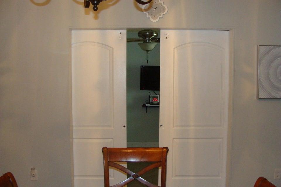 Den w/ Barn Doors