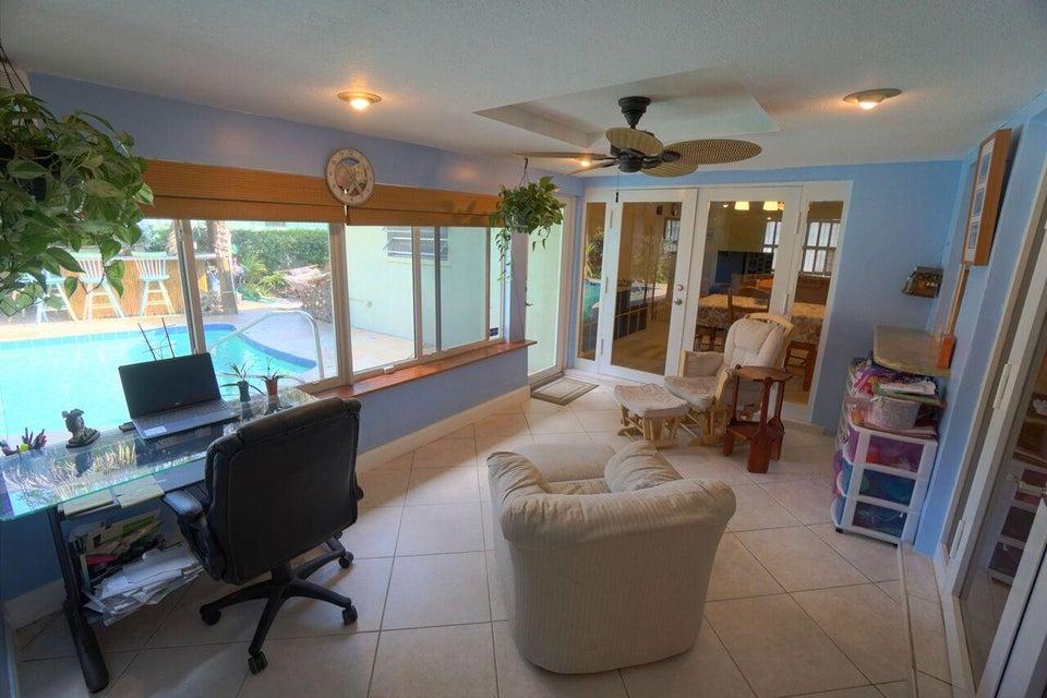 Enclosed Florida Room