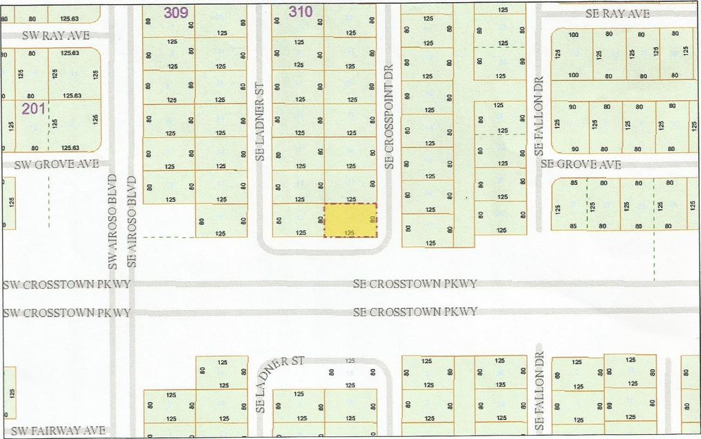 Land for Sale at 145 SE Crosspoint Drive 145 SE Crosspoint Drive Port St. Lucie, Florida 34983 United States