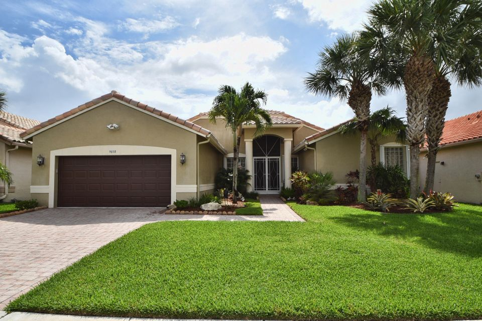 واحد منزل الأسرة للـ Sale في 9038 Terni Lane Boynton Beach, Florida 33472 United States