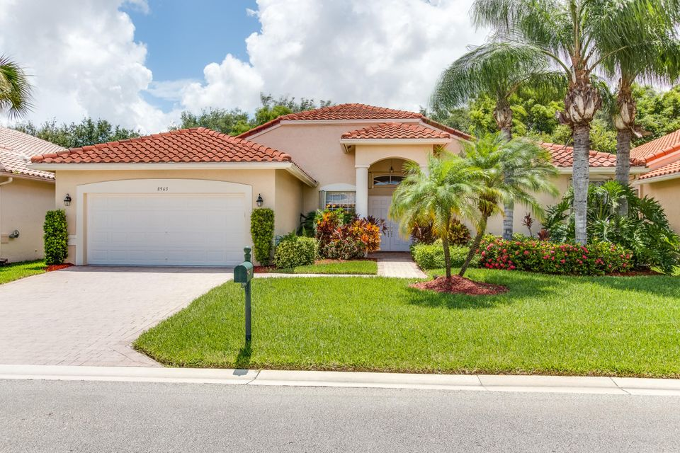 Maison unifamiliale pour l Vente à 8963 Torcello Way 8963 Torcello Way Boynton Beach, Florida 33472 États-Unis