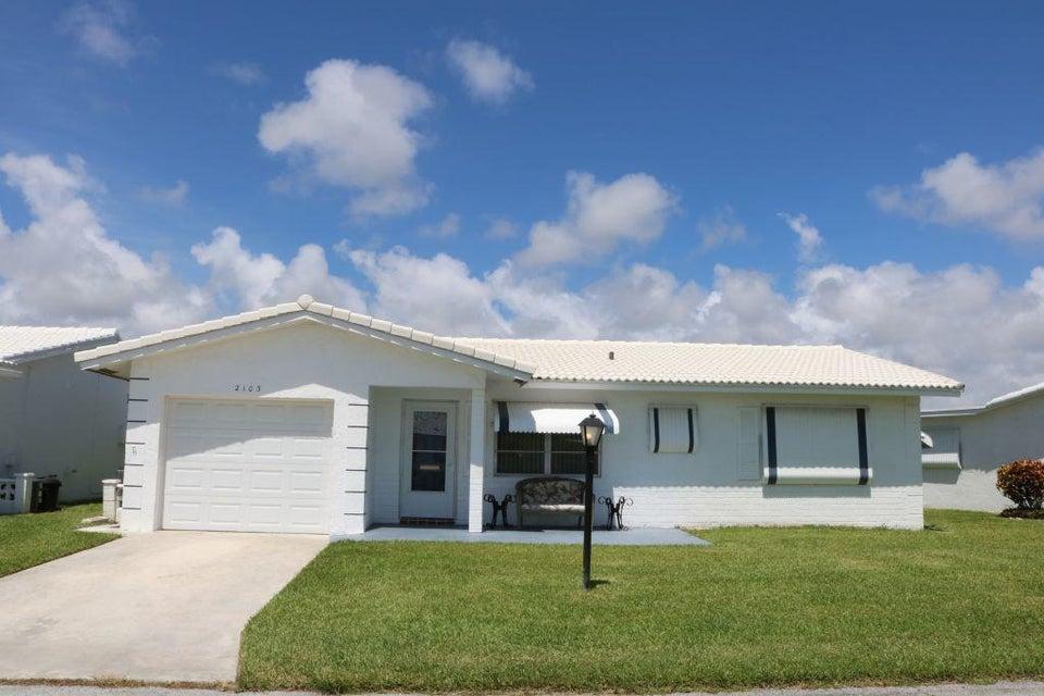 2103 SW 14th Place, Boynton Beach, FL 33426