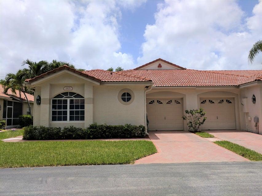 1805 Wood Fern Drive, Boynton Beach, FL 33436