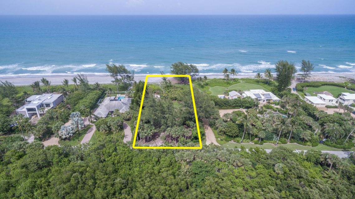 Single Family Home for Sale at 75 N Beach Road 75 N Beach Road Hobe Sound, Florida 33455 United States