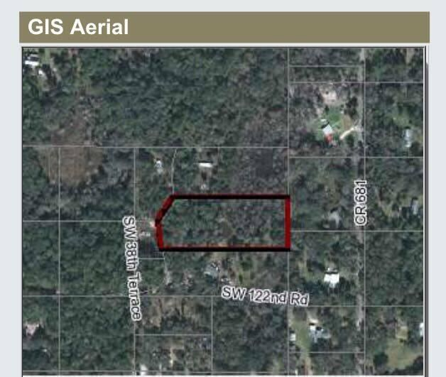 Terreno por un Venta en 3810 SW Tract 1 122nd Road Webster, Florida Estados Unidos