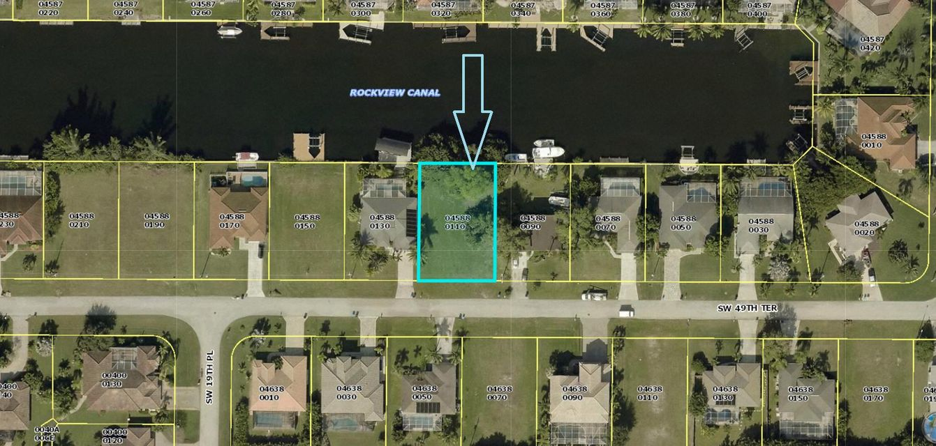 Single Family Home for Sale at 1827 SW 49th Terrace 1827 SW 49th Terrace Cape Coral, Florida 33914 United States