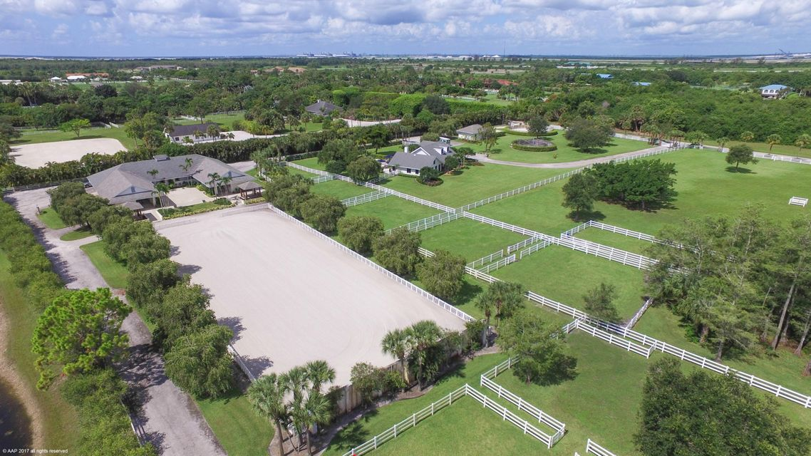 واحد منزل الأسرة للـ Sale في 3850 Duellant Road Loxahatchee, Florida 33470 United States