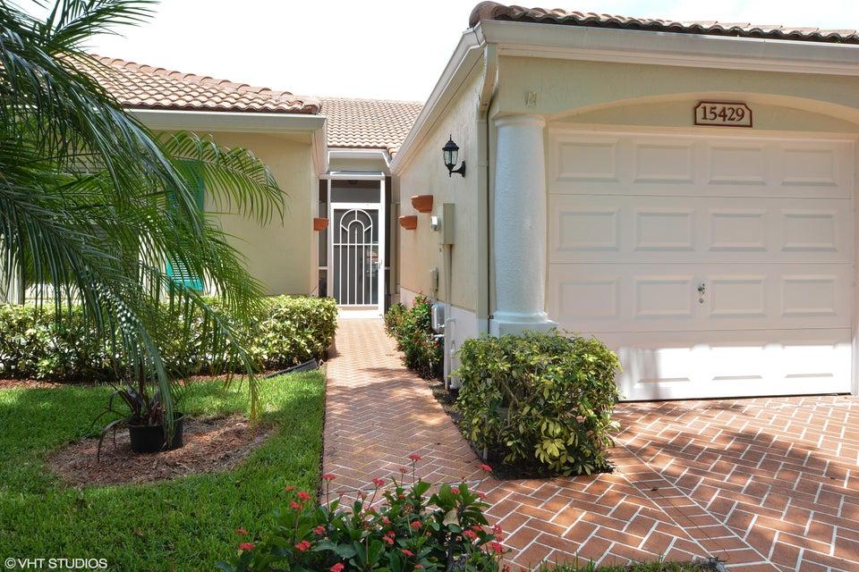 FLORAL LAKES home 15429 Rosaire Lane Delray Beach FL 33484