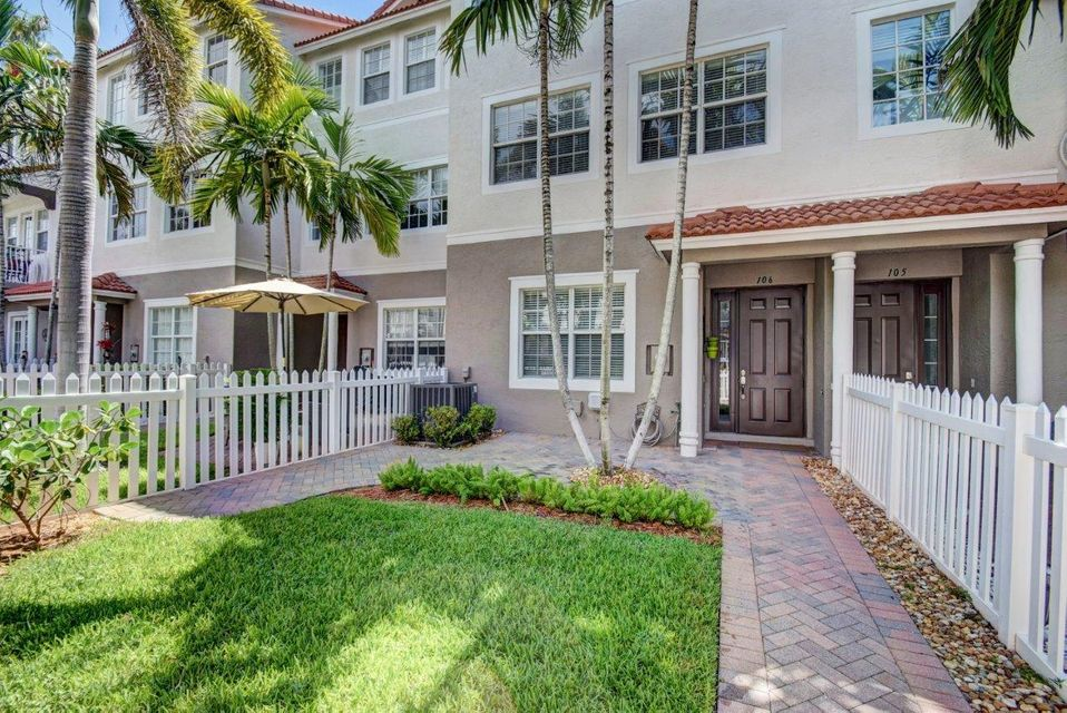 Townhouse for Rent at 106 Ocean Cay Way Hypoluxo, Florida 33462 United States