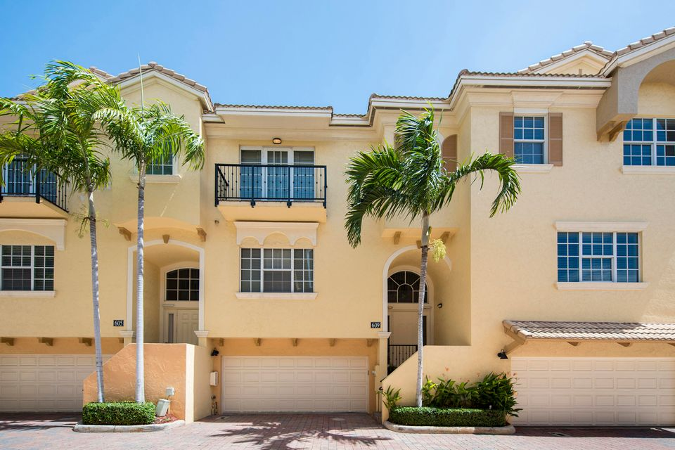 Townhouse for Sale at 609 Renaissance Way Delray Beach, Florida 33483 United States
