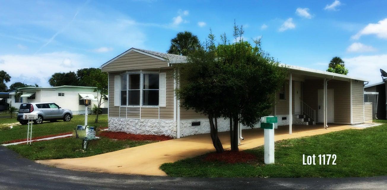 Móvil / Fabricado por un Venta en 4212 71st Road N 4212 71st Road N Riviera Beach, Florida 33404 Estados Unidos