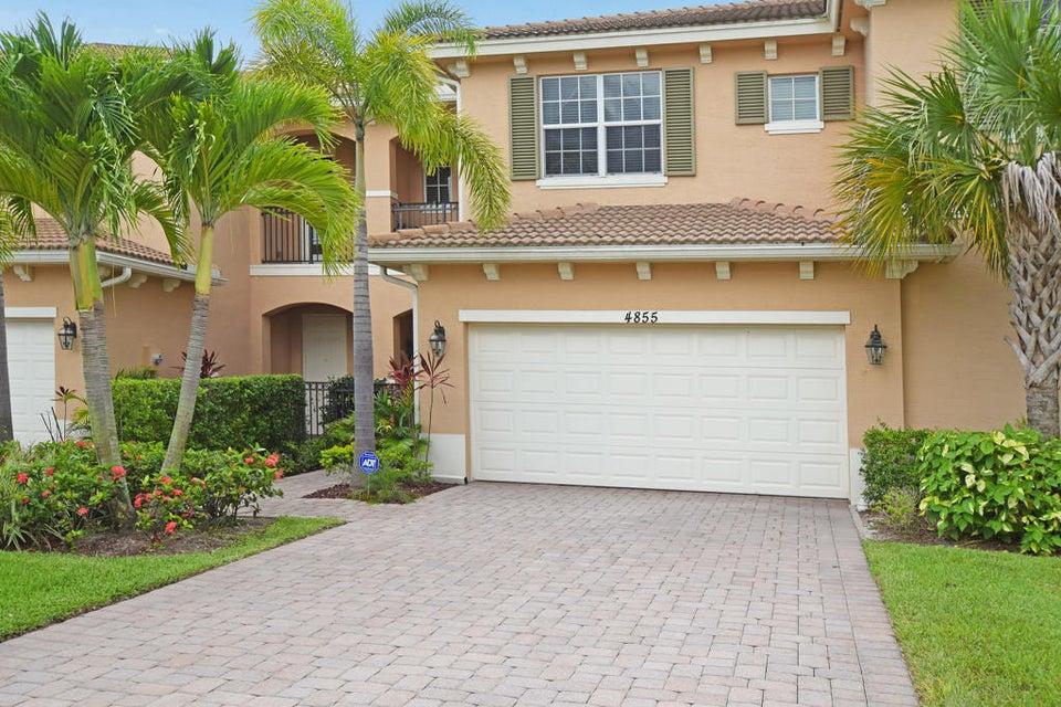 Townhouse for Sale at 4855 Cadiz Lot 67 Circle 4855 Cadiz Lot 67 Circle Palm Beach Gardens, Florida 33418 United States