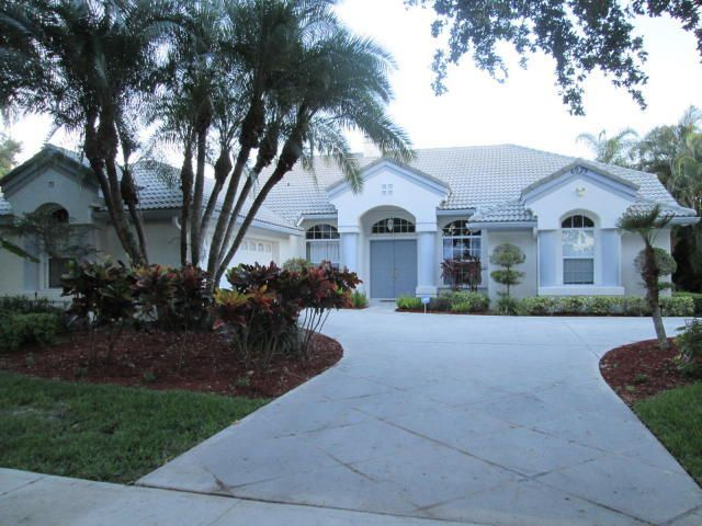 Single Family Home for Sale at 6929 Cypress Cove Circle Jupiter, Florida 33458 United States