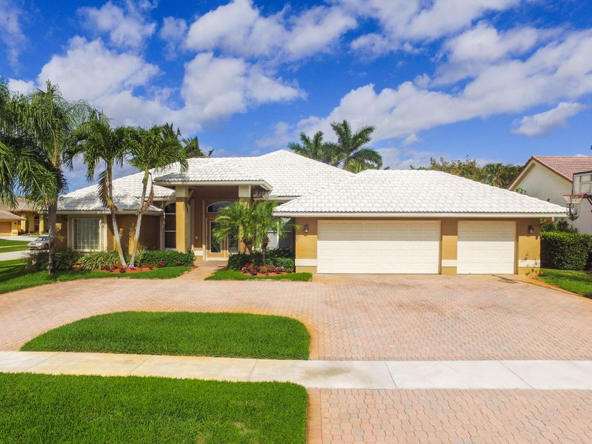 Single Family Home for Sale at 7261 Brickyard Circle Lake Worth, Florida 33467 United States