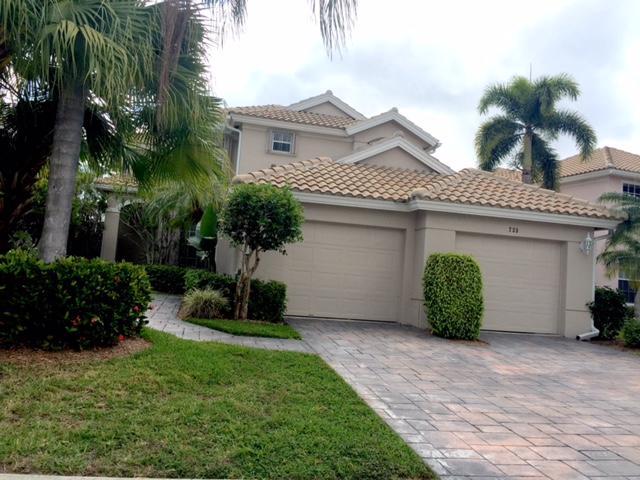 Single Family Home for Rent at 733 Pinehurst Way 733 Pinehurst Way Palm Beach Gardens, Florida 33418 United States