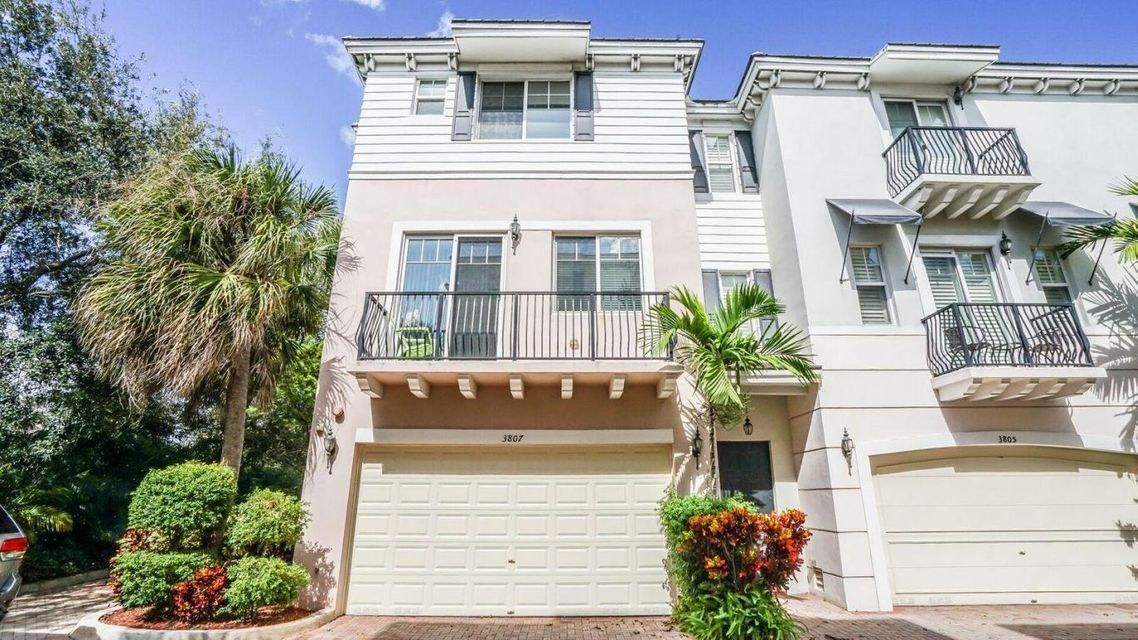 Townhouse for Sale at 3807 NW 5th Terrace 3807 NW 5th Terrace Boca Raton, Florida 33431 United States