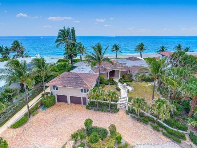 واحد منزل الأسرة للـ Sale في 12 Ocean Drive Jupiter Inlet Colony, Florida 33469 United States