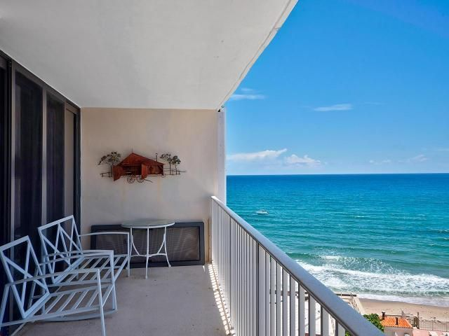 Condominium for Sale at 3590 S Ocean Boulevard # 908 3590 S Ocean Boulevard # 908 South Palm Beach, Florida 33480 United States