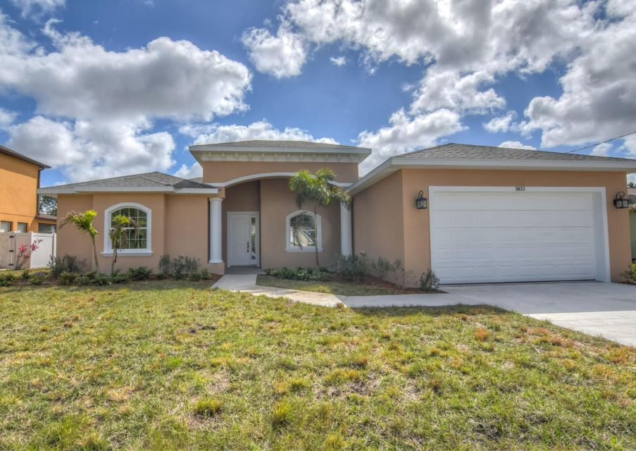 Single Family Home for Sale at 5936 NW Carefree Street Port St. Lucie, Florida 34986 United States