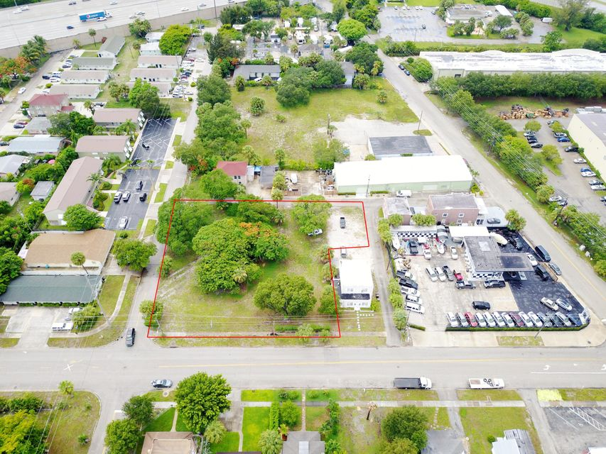 Commercial Land للـ Sale في 1315 Alpha Street 1315 Alpha Street West Palm Beach, Florida 33401 United States