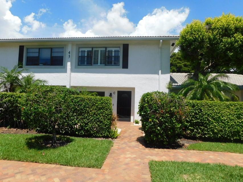 Townhouse for Sale at 43 Stratford Lane # C 43 Stratford Lane # C Boynton Beach, Florida 33436 United States