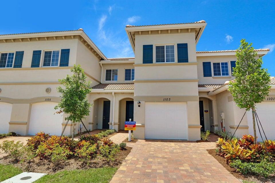 Stadthaus für Verkauf beim 1202 Paisley Court Lake Worth, Florida 33461 Vereinigte Staaten