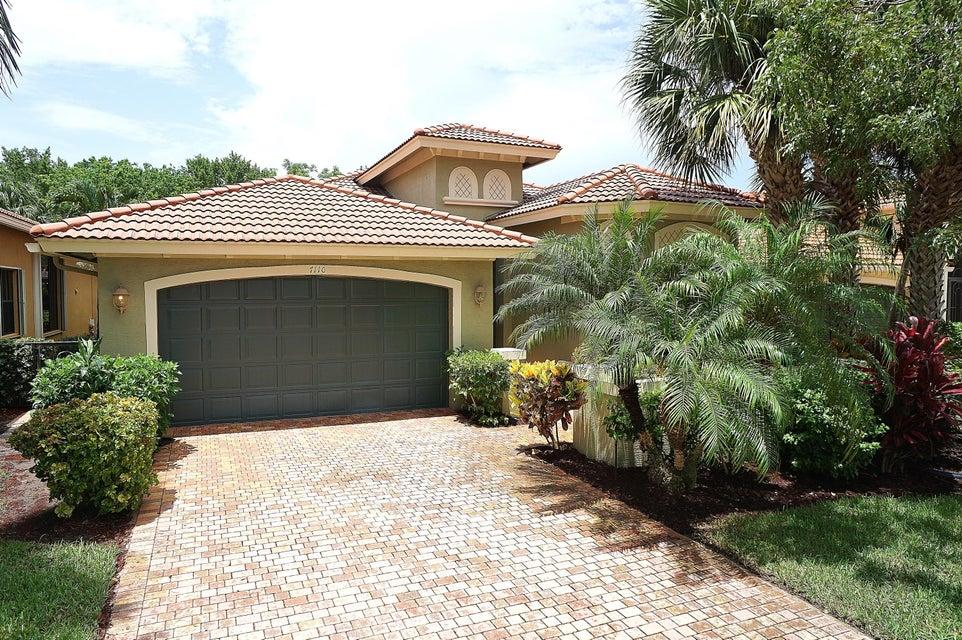 TIVOLI LAKES PUD home 7110 Boscanni Drive Boynton Beach FL 33437