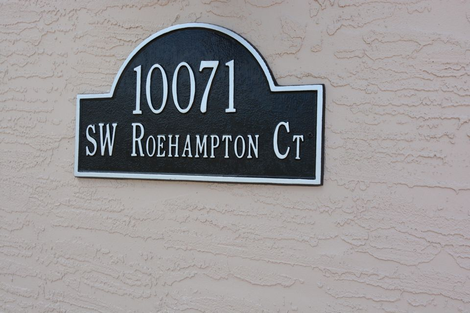 Additional photo for property listing at 10071 SW Roehampton Court  Port St. Lucie, Florida 34987 États-Unis