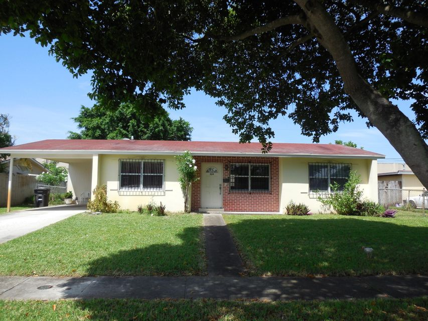 Single Family Home for Sale at 324 N Ware Drive West Palm Beach, Florida 33409 United States