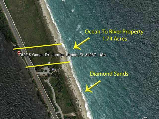Single Family Home for Sale at 7820 S Ocean Drive Jensen Beach, 34957 United States