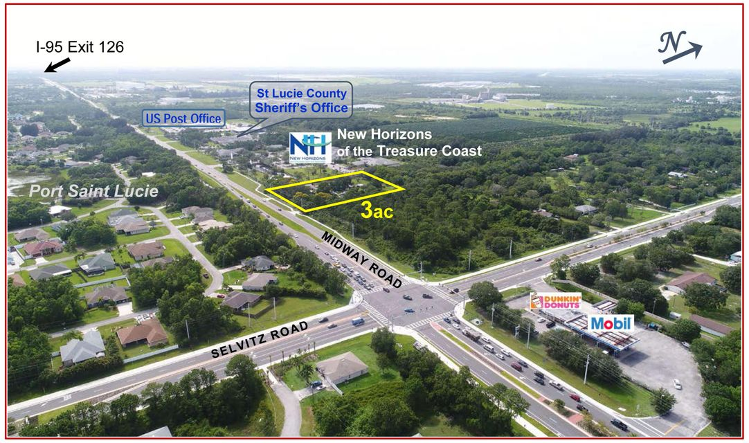 Commercial Land for Sale at 4362 W Midway Road 4362 W Midway Road Fort Pierce, Florida 34981 United States