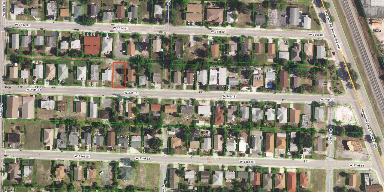 Terreno por un Venta en 1224 W 34th Street 1224 W 34th Street Riviera Beach, Florida 33404 Estados Unidos