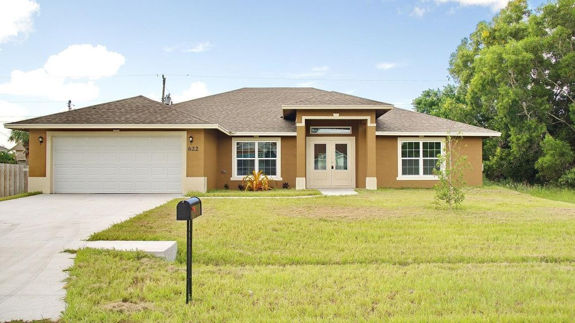 622 SW Sardinia Avenue is listed as MLS Listing RX-10354177 with 24 pictures