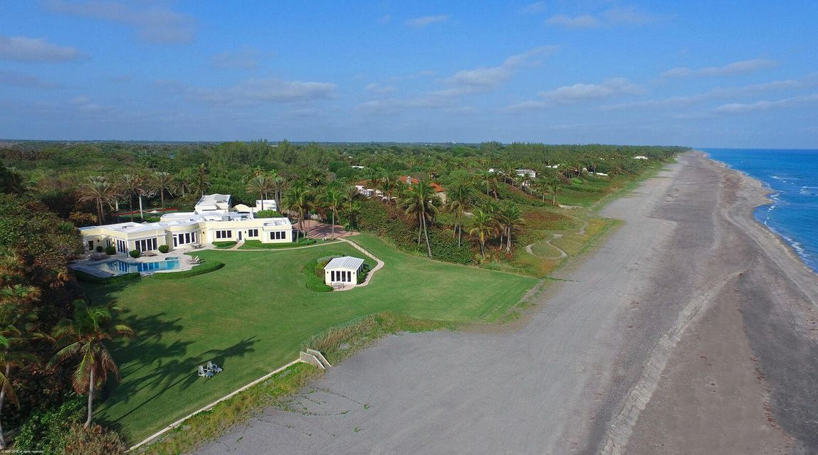 Single Family Home for Sale at 255 S Beach Road Hobe Sound, 33455 United States