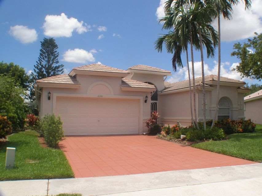 CORAL LAKES /REGENCY COVE SOUTH home 6241 Coral Reef Terrace Boynton Beach FL 33437