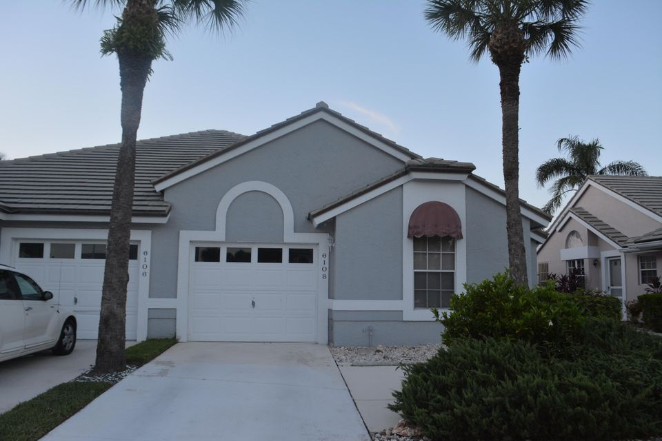 Villa for Sale at 6108 Bear Creek Court 6108 Bear Creek Court Lake Worth, Florida 33467 United States