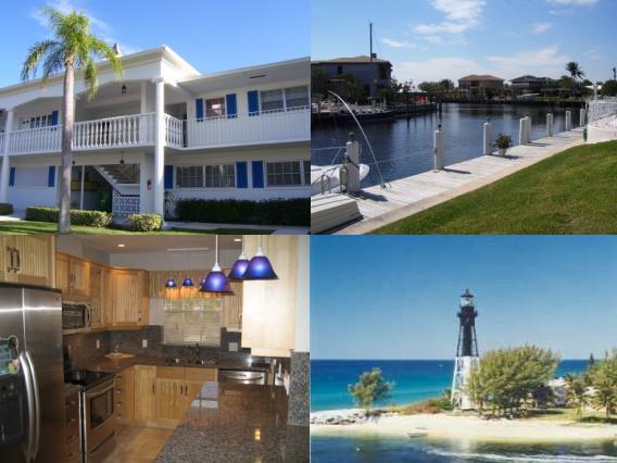 Cooperativa / condomínio para Locação às 2400 NE 36th Street Lighthouse Point, Florida 33064 Estados Unidos